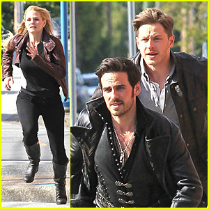 Jennifer Morrison & Josh Dallas Get Their Hearts Racing on 'Once' Set