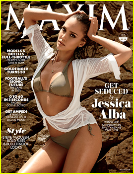 Jessica Alba Puts Her Unbelievable Bikini Body on Display for 'Maxim' September 2014