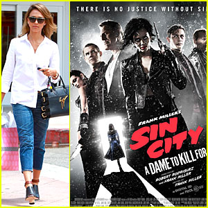Jessica Alba Looks Super Scary For 'Sin City: A Dame to Kill For' Poster