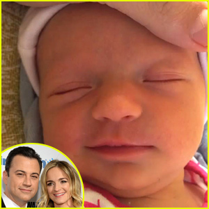 Jimmy Kimmel Shares First Photos of Newborn Daughter Jane