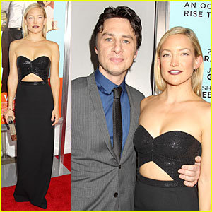 Kate Hudson Flaunts Midriff In Sequined Black Dress at 'Wish I Was Here' NYC Screening!