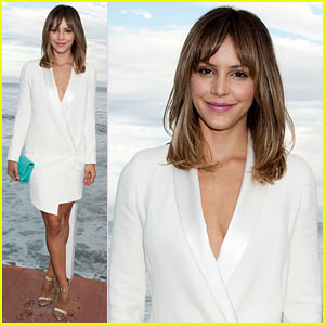 Katharine McPhee Dresses to Impress at Just Jared x REVOLVE Dinner in Malibu