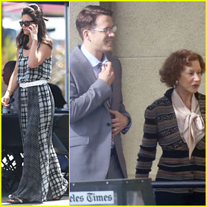 Katie Holmes & Ryan Reynolds Start Focusing On The 'Woman in Gold'