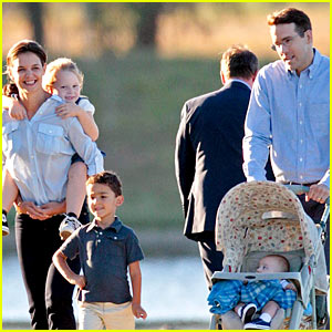 Katie Holmes & Ryan Reynolds Would Have the Cutest Family!