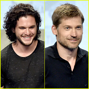 Kit Harington & Nikolaj Coster Waldau Make Us Laugh With 'Game of Thrones' Bloopers Reel - Watch Now!