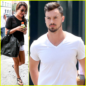 Lea Michele & Boyfriend Matthew Paetz Hit the Big Apple After Italian Getaway