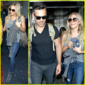 LeAnn Rimes & Eddie Cibrian Missed His Kids So Much During Reality Show Promo Trip