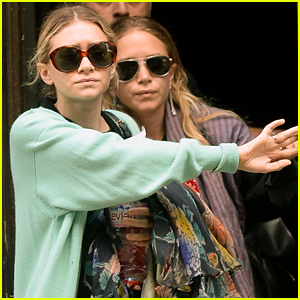 Mary-Kate & Ashley Olsen Get Together for a Lunch Date!