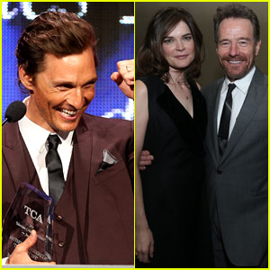 Matthew McConaughey & 'Breaking Bad' Win Big at the TCA Awards!