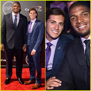 Michael Sam Delivers Emotional & Inspiring Speech at ESPYs 2014 - Watch Now!