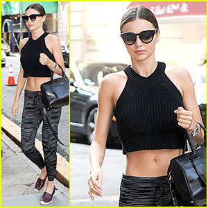 Miranda Kerr's Toned Abs Definitely Deserve to See the Light of Day!