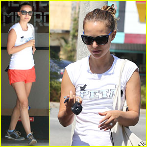 Natalie Portman Supports PETA's Fight For Animal Rights