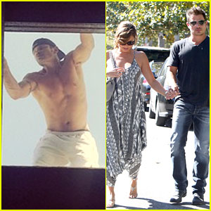 Nick Lachey Caught Shirtless On His Roof by Wife Vanessa!