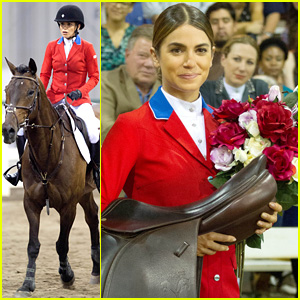 Nikki Reed Looks Like a Pro While Filming 'The Sunday Horse'!