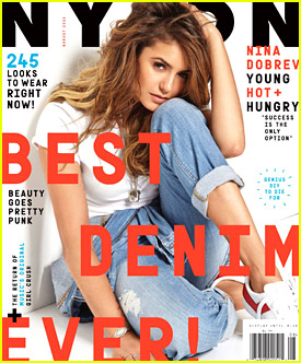 Nina Dobrev Says 'Comedy Is Terrifying' in Nylon's August 2014 Issue