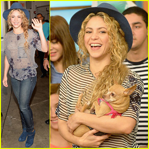 Throwback Shakira Video Surfaces - Watch Her Sing & Dance at 12 Years Old!