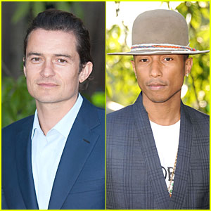Orlando Bloom & Pharrell Williams Are Such Stylish Studs at Serpentine Gallery Party!