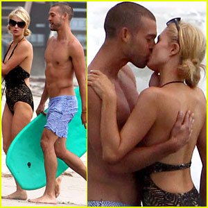 Paris Hilton Moves On from River Viiperi with Model Josh Upshaw - See the Steamy New Pics!