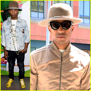 Pharrell Williams' 5-Year-Old Son Teaches Him How to Play Video Games