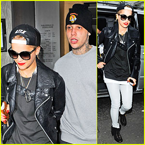 Rita Ora Steps Out With Richard Hilfiger at Nobu