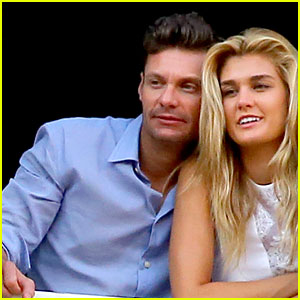 Ryan Seacrest Cozies Up to Girlfriend Shayna Taylor in Italy!
