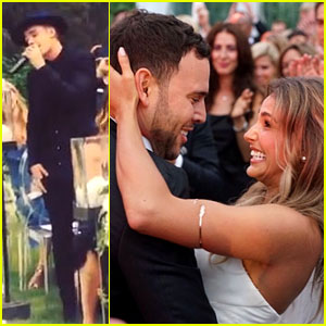 Scooter Braun Gets Married & Justin Bieber Performs - See Photos & Videos Here!