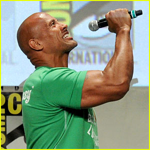 The Rock Makes His Presence Known at Comic-Con! (Video)