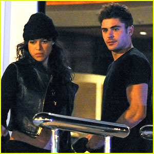 Zac Efron Joins Michelle Rodriguez on the Yacht in Ibiza