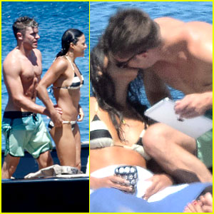 Zac Efron & Michelle Rodriguez Kissing Photos - See Them Here!