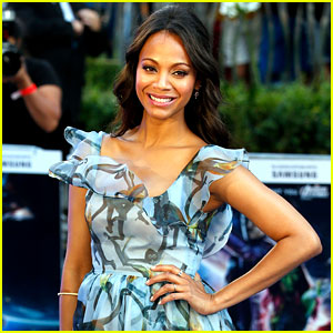 Zoe Saldana Curses Out the Media After Pre