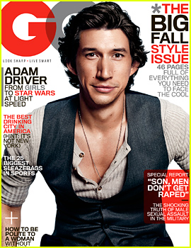 Girls' Adam Driver Describes Going From the Marines to Juilliard in 'GQ'