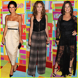 Angie Harmon, Amy Brenneman, & Marcia Gay Harden Hit Up HBO's Emmys 2014 After Party