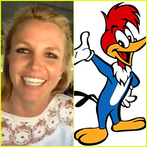 Britney Spears' Woody Woodpecker Impression Makes Us Giggle - Watch Now!