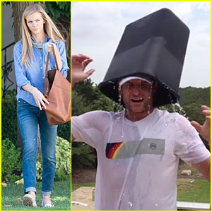 Brooklyn Decker's Husband Andy Roddick Completes Ice Bucket Challenge - Watch Now!