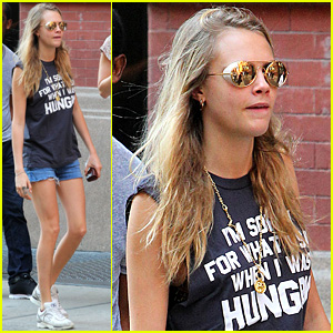 Cara Delevingne: I'm Sorry for What I Said When I Was Hungry