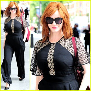 Christina Hendricks' Agency Dropped Her for Doing 'Mad Men'