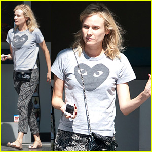 Diane Kruger Gets Pampered with Pre-Emmys Mani-Pedi