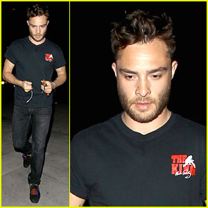 Ed Westwick Is Completely Blown Away By His Jaguar