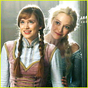 Elizabeth Lail as Princess Anna in 'Once Upon A Time' - First Pic!