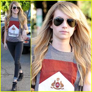Emma Roberts 'Feels Like Her Self Again' with New Blonde Hair