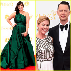 Fargo's Allison Tolman & Colin Hanks Hit Emmys 2014 Red Carpet