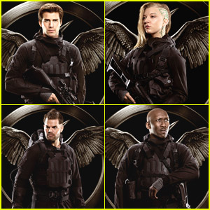 The 'Rebel Warriors' Are Looking To Save The Day in New 'Mockingjay' Posters
