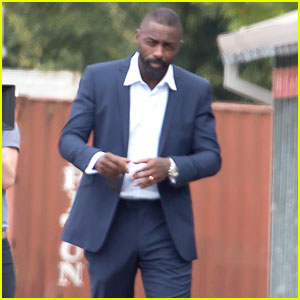 Idris Elba Explains the Mystery Bulge in His Pants - What Is It?!