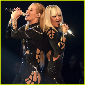 Iggy Azalea & Rita Ora Bring the House Down with 'Black Widow' MTV VMAs 2014 Performance - Watch Now!