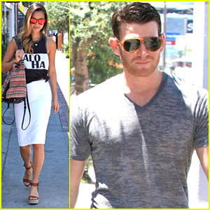 Jamie Chung & Bryan Greenberg Lunch With Jeweler Ben Baller