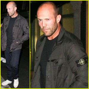 Jason Statham Steps Out After Lionsgate Sues Over 'Expendables 3' Leak