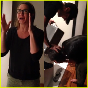 Jennifer Aniston Completes Ice Bucket Challenge, Justin Theroux Pours a Ton of Water On Her Head!