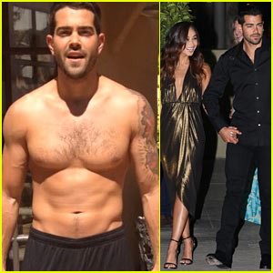 Dallas' Jesse Metcalfe Goes Shirtless for Ice Bucket Challenge!
