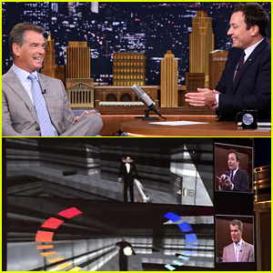 Jimmy Fallon Challenges Pierce Brosnan to His James Bond GoldenEye Video Game & Wins -