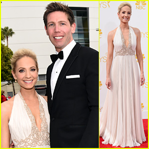 Downton Abbey's Joanne Froggatt Brings Hubby James Cannon to Emmys 2014